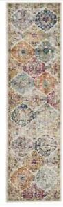 "For Sale! New Runner Rug....Safavieh Madison Cream / Multi Area Rug Runner - 2' 3"" x 12'"
