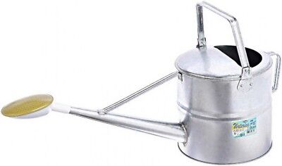 Japanese Sprinkling Watering Can Galvanized Steel 9L Safety3 Fast Ship Japan EMS