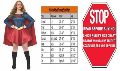 Rubie's Plus Size Adult Supergirl TV Curvy Costume Plus, Multi (Supergirl Adult Plus Kostüm)