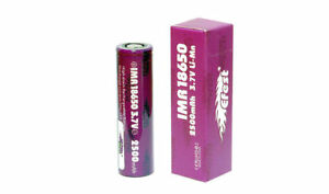 Genuine Efest IMR 18650 Battery 2500mAh 3.7V Flat Top 35A Rechargeable Vape Mod