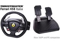 Thrustmaster Ferrari 458 Italia for PC
