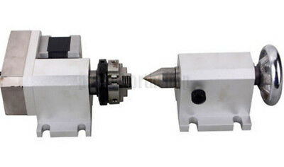 Cnc Engraving Machine Router Rotational Rotary Axis F A-axis 4th-axistailstock