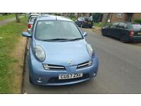 Nissan micra 2008 plate 1.2 very good condition 6 months mot