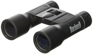 NEW Bushnell Powerview 8x21 Compact Folding Roof Prism Binocular (Black)