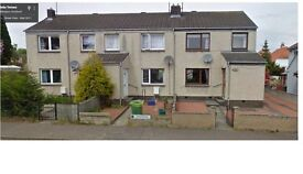 Haddington - Glebe Terrace, Spacious unfurnished 2 bedroom Mid Terr House to Rent GCH DG - 1st May