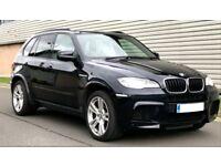 BMW X5M 4.4 LTR V8 PETROL, 2 X TWIN SCROLL TURBOS, MASSIVE SPEC, PANORAMIC ROOF, IVORY LEATHER TRIM