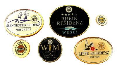 WARSTEINER Pin / Pins - LOGOPINS / 6 PINS !!!!!!!!! (3287)
