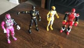 Power rangers Figures