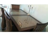 Dining table and four chairs reduced price