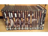 James Bond 007 DVDs x 22