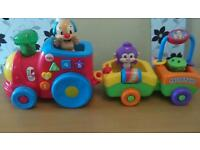 Fisher price laugh & learn puppy's train