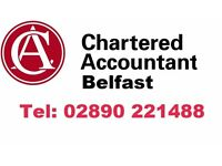 BELFAST ACCOUNTANT - KEEN RATES - ALL TAX AND ACCOUNTS - EXPERIENCED PROFESSIONAL