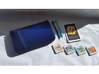 3DS XL New Model - Used twice, 4 GAMES and CASE!