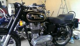 Royal Enfield Bullet 350 Motorbike - Low Mileage, 12 Month MOT