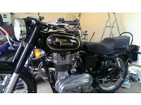 Royal Enfield Bullet 350 Motorbike - Low Mileage, 12 Month MOT