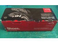 New Genuine OE Quality Apec Brake Shoe Set - SHU483 Fits SUZUKI, SUBARU, DAIHATSU