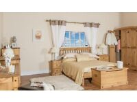 Corona Pine Bedroom Furniture **Home Delivery Available**