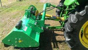 Heavy Duty 1750mm Flail Mower with Hydraulic Offset 75HP Gearbox Dinmore Ipswich City Preview