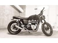 One off Triumph Thruxton