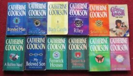CATHERINE COOKSON 12 p/ back books, titles in desription, will split/sell individually £1.00.each