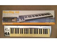 M-Audio KeyRig 49 keyboard midi controller
