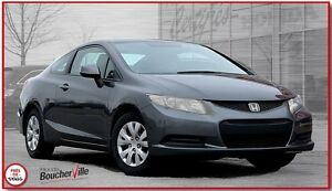 2012 Honda Civic LX (M5) garantie global 160000 km