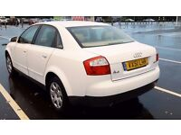 Audi A4 2.0L Auto Petrol. 45000 genuine miles. Leather interior, very clean £1100 ONO from £1550