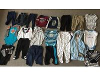 Lots of Boys Clothes size 6 to 9 months
