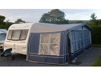 Caravan Awning, Ventura Atlantic 1050 made by Isabella. excellent quality and condition £575 ovno
