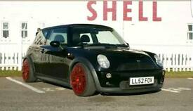 Modified Mini Cooper S
