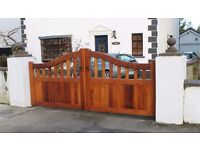 Timber Entrance Gates