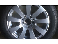 "MERCEDES E CLASS 212 - SET OF 4 x 16"" ALLOY WHEELS AND WINTER TYRES"