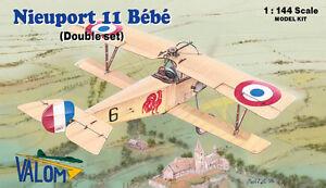 Valom Models 1/144 Nieuport 11 Dual Combo Kit