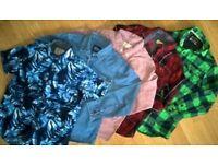 Boys shirts 7yrs old(5pcs)