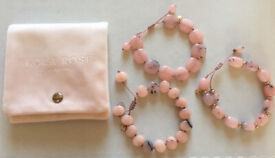 Lola Rose semi-precious Melon Quartzite bracelets