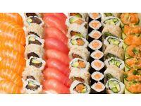 Sushi Shop Manager, Richmond, West London.