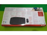 Microsoft wireless optical keyboard mouse