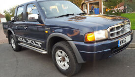 Ford Ranger XLT 2.5 TD DOUBLE CAB, FULL SERVICE HISTORY, 1YR MOT, 4 NEW TYRES, HILUX, L200, NAVARO
