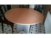 ROUND DINING TABLE SEATS 4