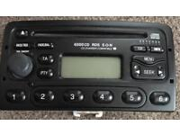 Ford 6000 RDS CD player and radio