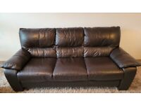 3 and 2 seater sofas (dfs)