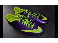 NIKE MENS MERCURIAL VICTORY IV SG UK SIZE 10 FOOTBALL BOOTS NEW WITH BOX £30