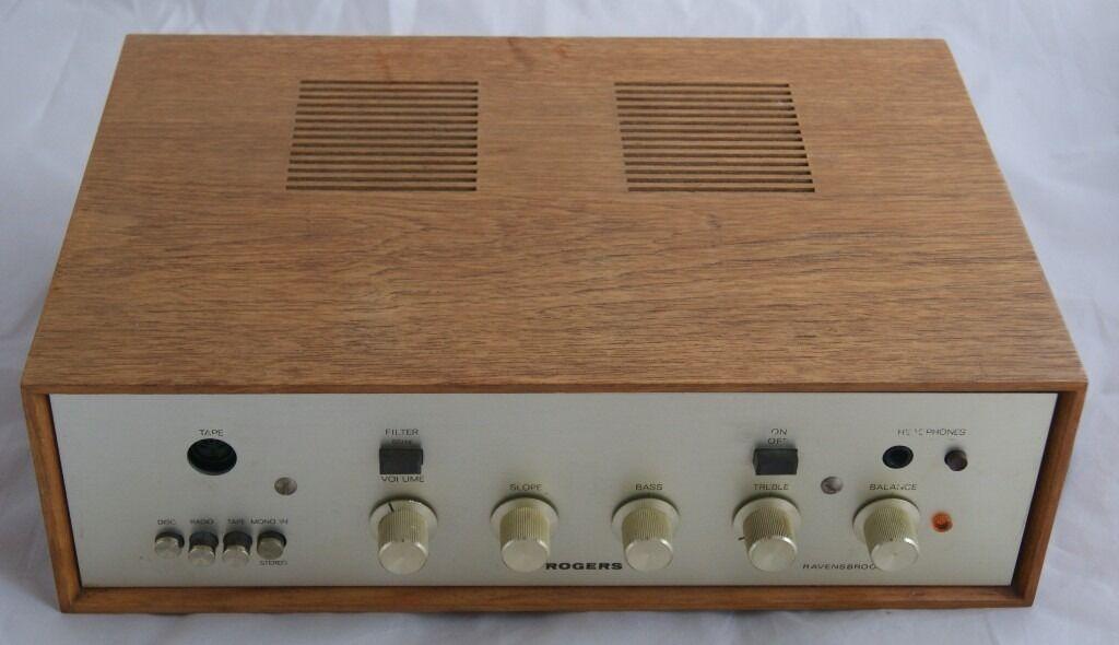 Original Vintage Rogers Ravensbrook Series Iii Hifi Stereo