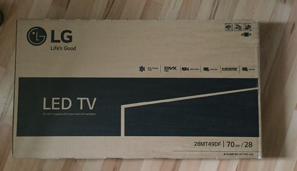 LG LED TV 28inch Brand New
