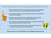 Free Deep Clean for your office Call 01278 773666