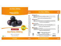 Simply Supplements - Acai Berry 2500mg