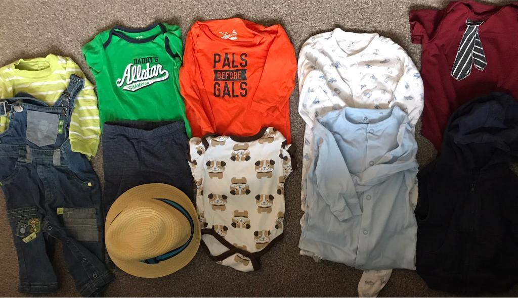 Boy bundle size 6 to 9 monthsin Peterculter, AberdeenGumtree - Bundle of boy clothing size 6/9 months. From a smoke free and pet free home. Please text if interested