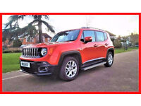 2016 Jeep Renegade 1.4 MultiAir II Longitude 5 door--- Hpi Clear --- Low Miles --- SatNav --- Jeep