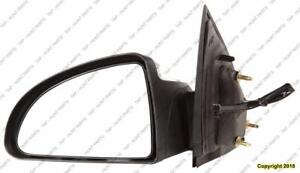 Door Mirror Power Driver Side Coupe Chevrolet Cobalt 2005-2010