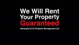 ATTENTION LANDLORDS - GUARANTEED RENT